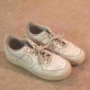 Men's Nike Air Force one shoes white size 10.5